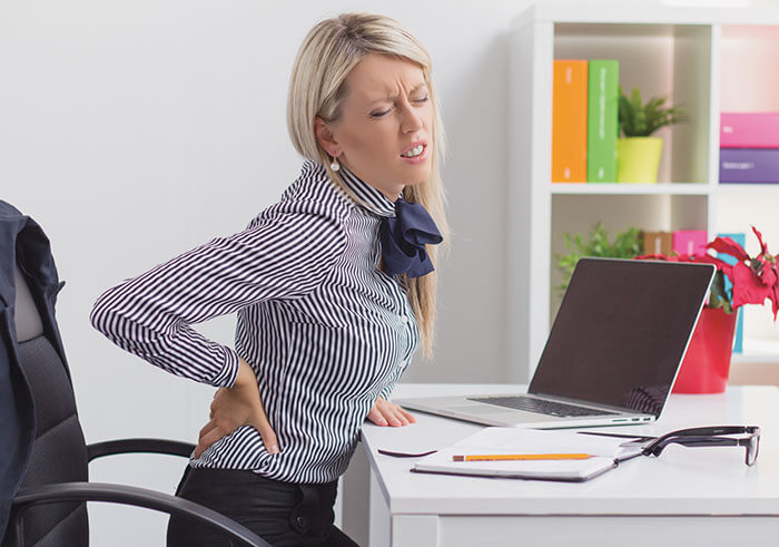 Synergy Health Management_Back pain at work